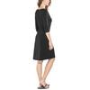 Royal Robbins Essential Tencel Monroe jurk Dames zwart